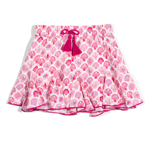 Pink Shell Leyla Skirt