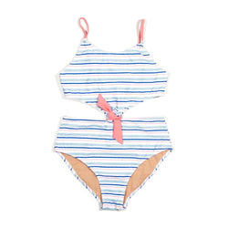 Multi Stripe Noe One Piece Swimsuit
