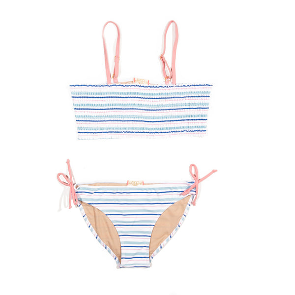 Multi Stripe Liv Two Piece Swimsuit