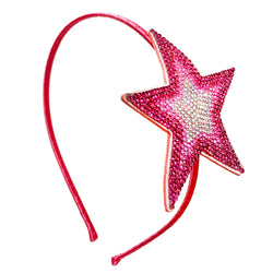 Large Star Crystal Headband