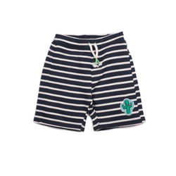 French Terry Stripe Cody Short