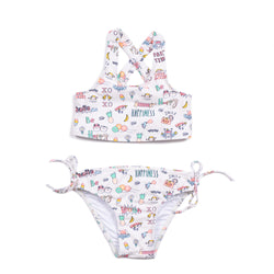 Party Print Gianna Two Piece Bikini