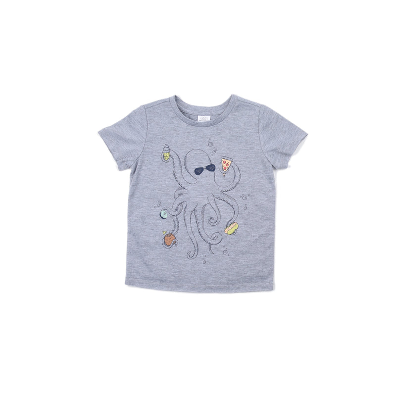Octopus Damian Graphic Tee