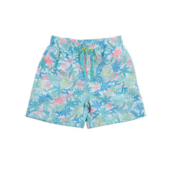 Green Coral Tristan Swim Trunk