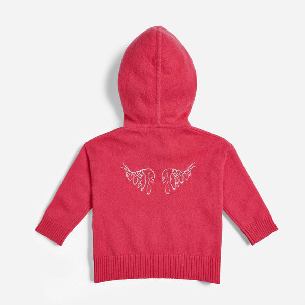 Archer's Bow Angel Wings Hoodie