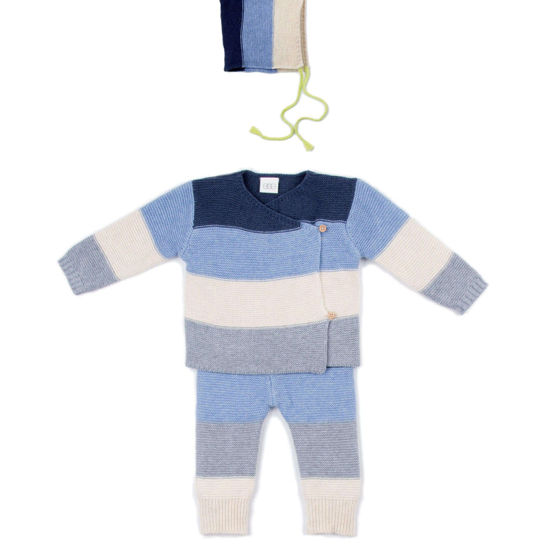 Blue Stripe Ryan 3 Piece Set
