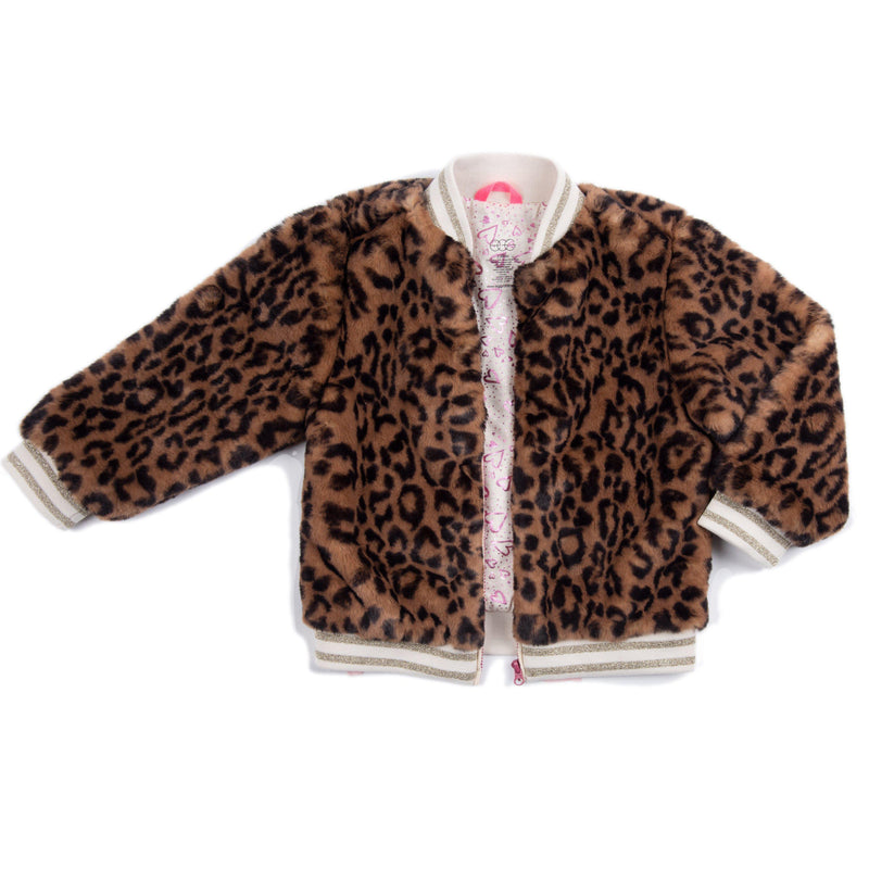 Faux Fur Leopard Abby Jacket
