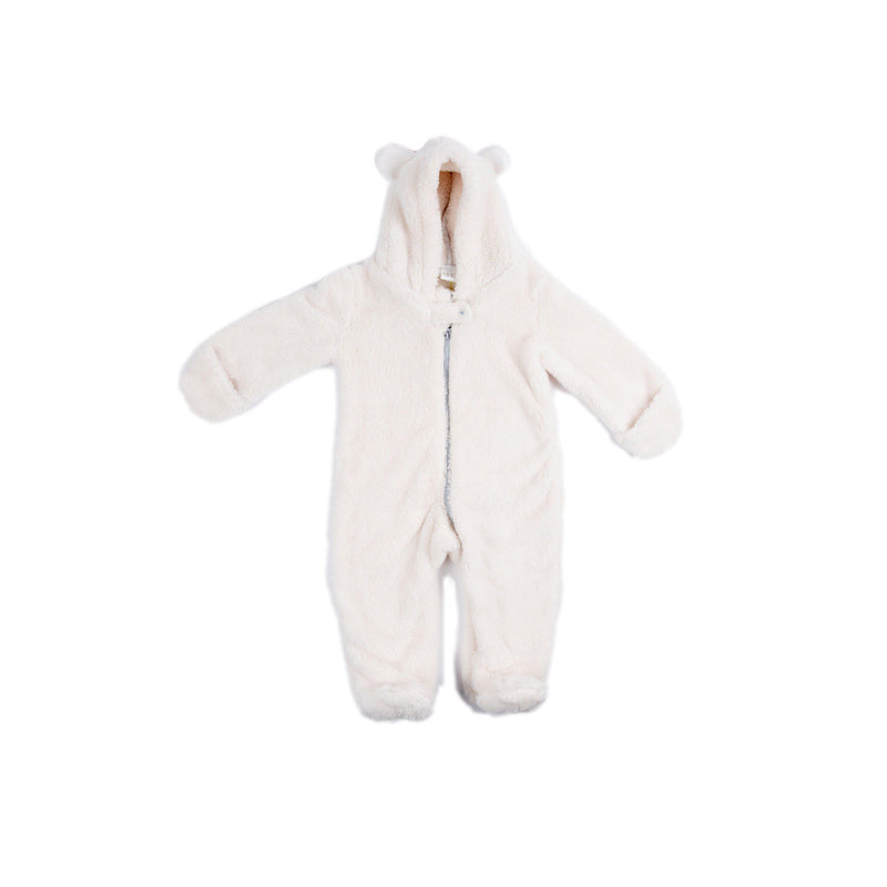 Fuzzy Bear Snowsuit