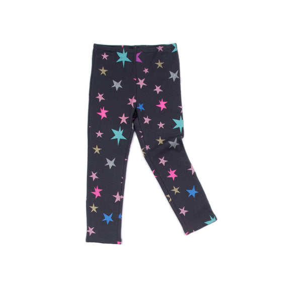 Star Charcoal Print Alyssa Legging