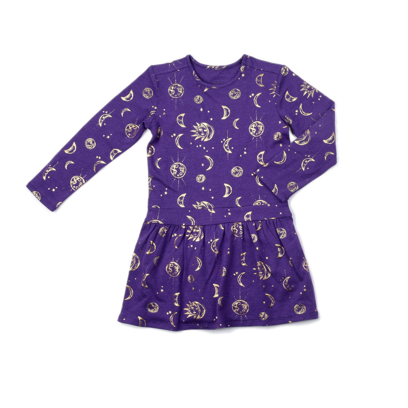 Moon Print Camilla Dress