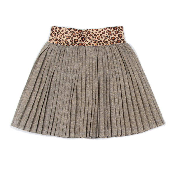 Leopard Gold Margaret Skirt