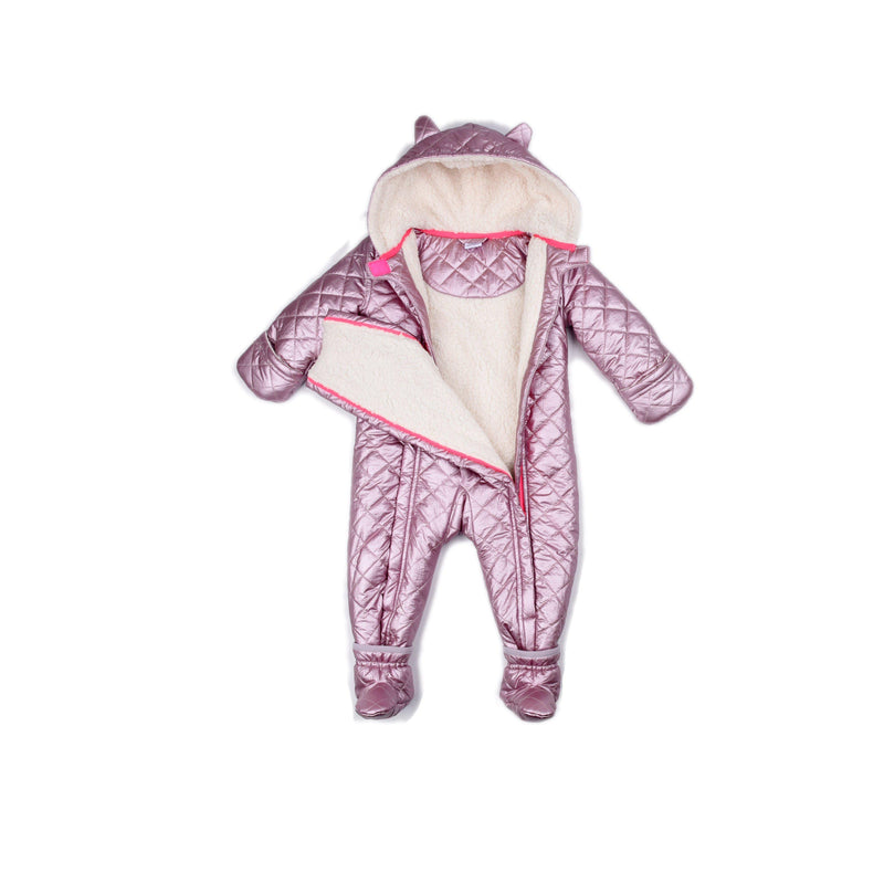 Pink Metallic Perry Snowsuit