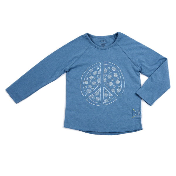 Organic Peace Long Sleeve Dominic Tee