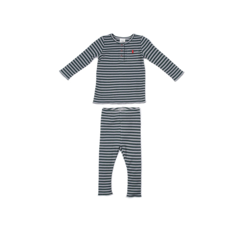 Grey Stripe Lee Set
