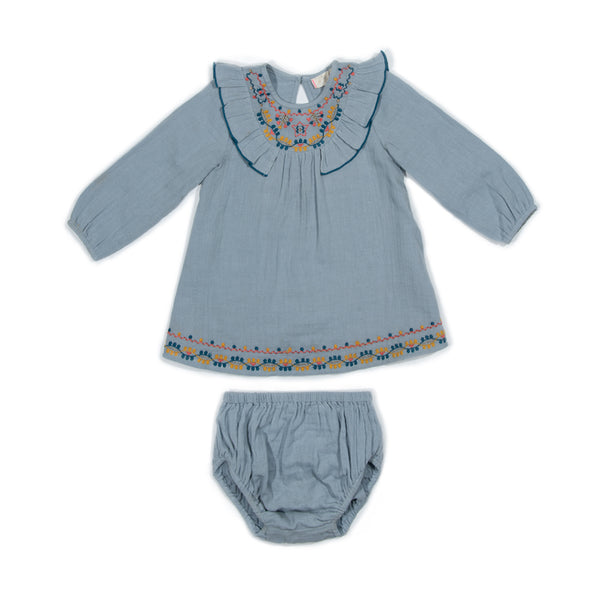 Crinkle Embroidery Agnes Set