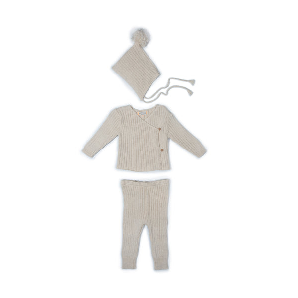 Oat Ribbed Ryan Set