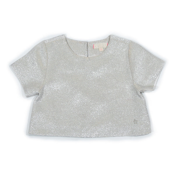 Metallic Jovie Top