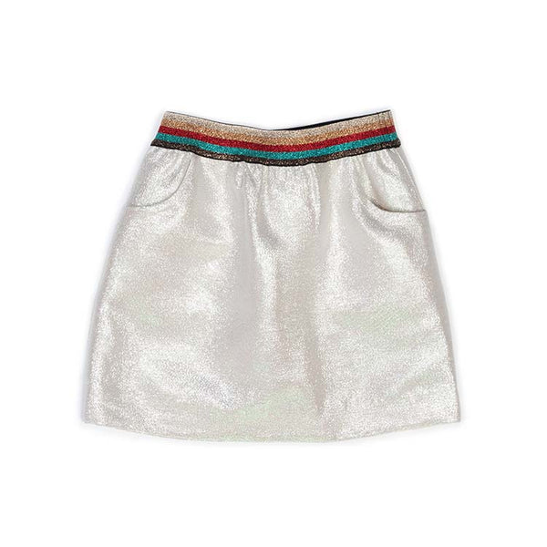 Metallic Jovie Skirt