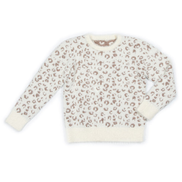 Metallic Leopard Sahara Sweater