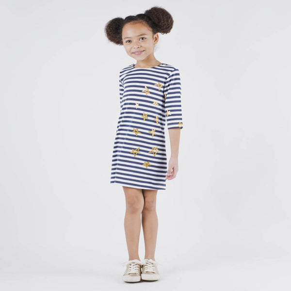Blue Stripe Nina Dress