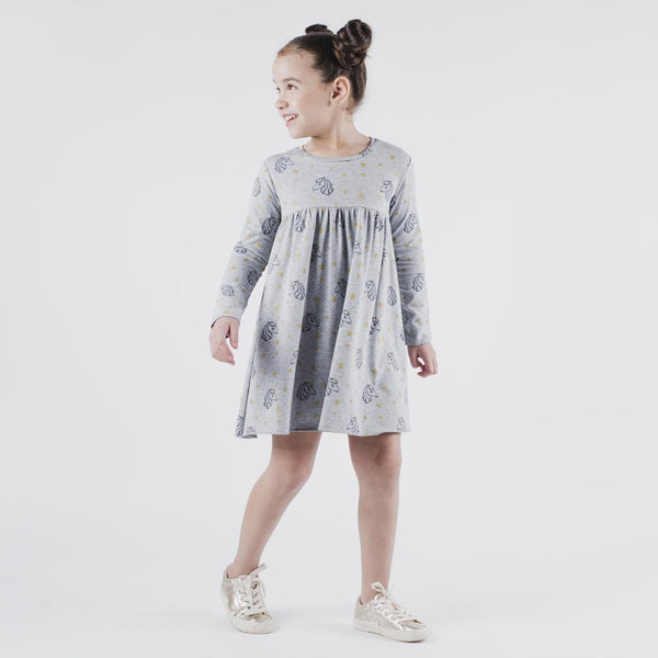 Unicorn Print Ania Dress