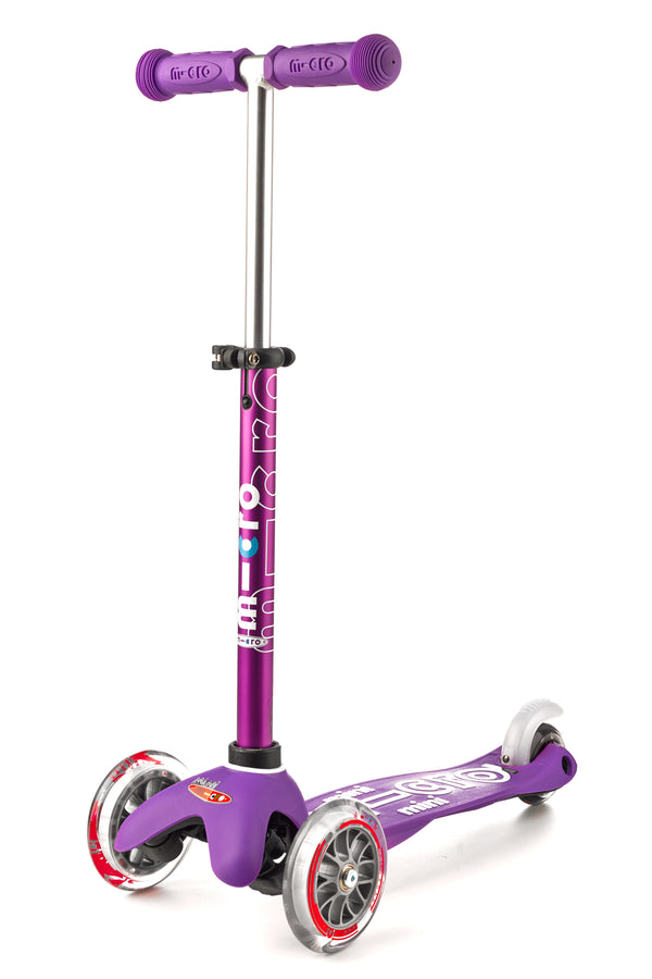 Purple Micro Mini Deluxe Scooter