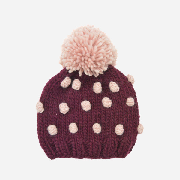 The Blueberry Hill Popcorn Hat