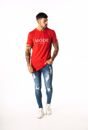 Red Core T shirt