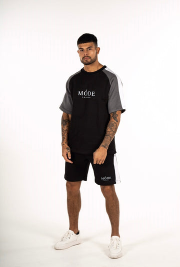 ORLANDO TWIN SET BLACK/GREY/WHITE T SHIRT