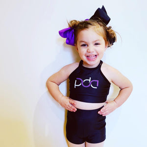 PDA Printed Uniform - Shorts - Lycra
