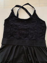 Load image into Gallery viewer, Second Hand Costume - Studio 7 Lace bodice dress with leotard - approx size AdXSm/ChXLrg