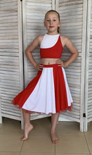 Load image into Gallery viewer, Second Hand Costume - Red & White, Top & Skirt - approx size Child Large/XL