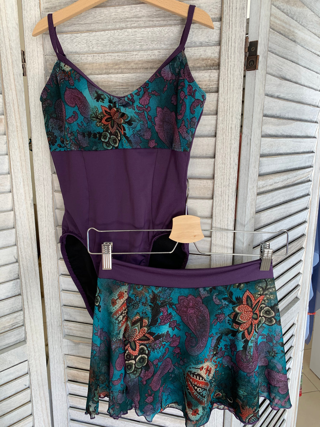 Boutique Leotard and Skirt- Purple - Sold Seperately