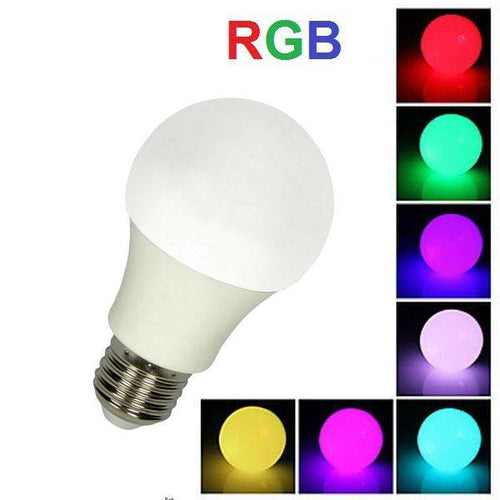Ampolleta Led multicolor control remoto