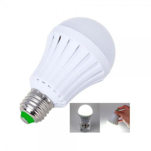 Ampolleta recargable inteligente emergencia 12 watts
