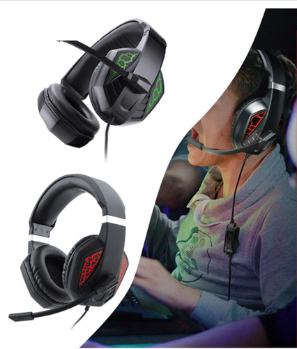 Audifonos Gamer flexibles para ps4 PC con microfono