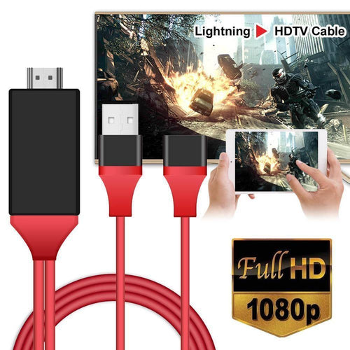 Cable HDTV conecta celular android ios a tv