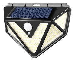 Foco Led Solar Sensor De Movimiento CL-166