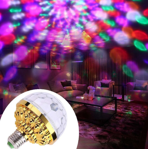Ampolleta led full Color estilo disco rotatoria