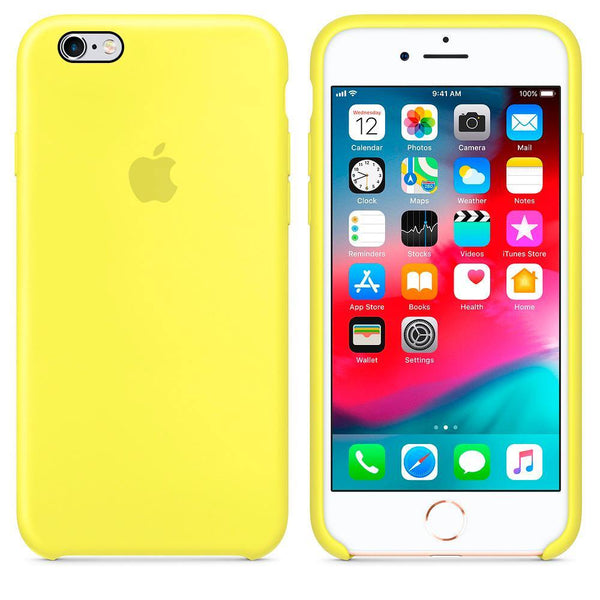 carcasa silicona iphone 6 y 6 plus colores