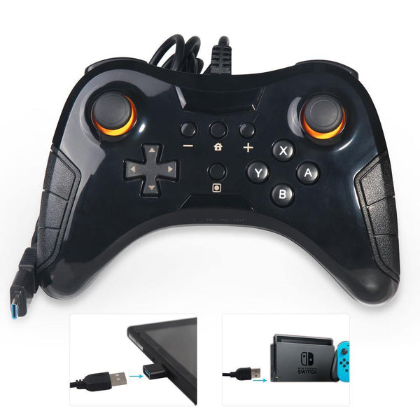 control inalambrico nintendo switch gamepad gamer pc celular android ios