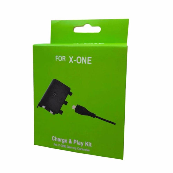 KIT CARGADOR XBOX ONE CABLE