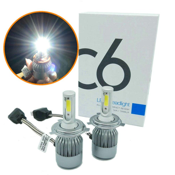 KIT LUCES LED AUTO H7 7600 LUMENES