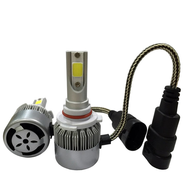 KIT LUCES LED AUTO 9005 7600 LUMENES