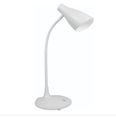 Lampara luz LED de escritorio flexible recargable
