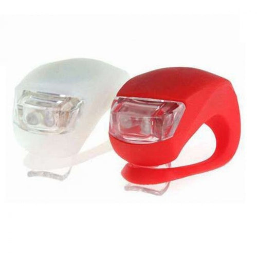 pack luces led bicicleta silicona impermeable