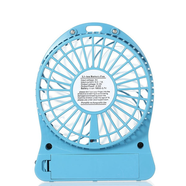Ventilador USB portatil recargable