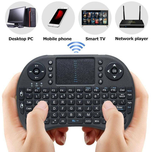 TECLADO INALAMBRICO SMART TV TOUCH PAD