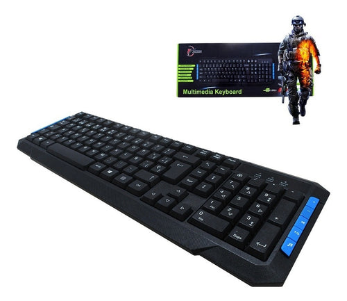 TECLADO MULTIMEDIA GAME PLAYER