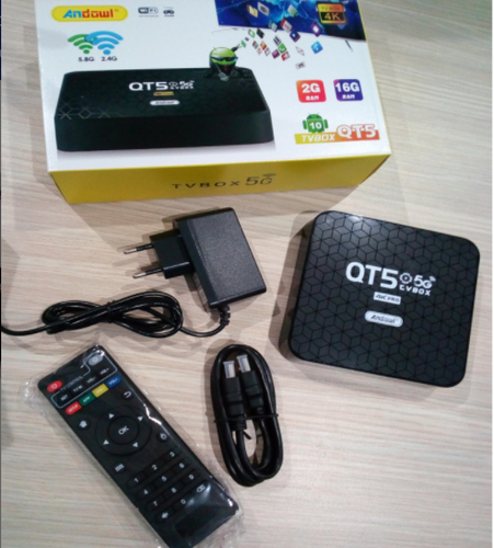 Cajita Tv Box Convertidor De Led A Smart Tv QT5 5G